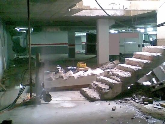 Corte de hormigon empresa madrid for Empresas de hormigon